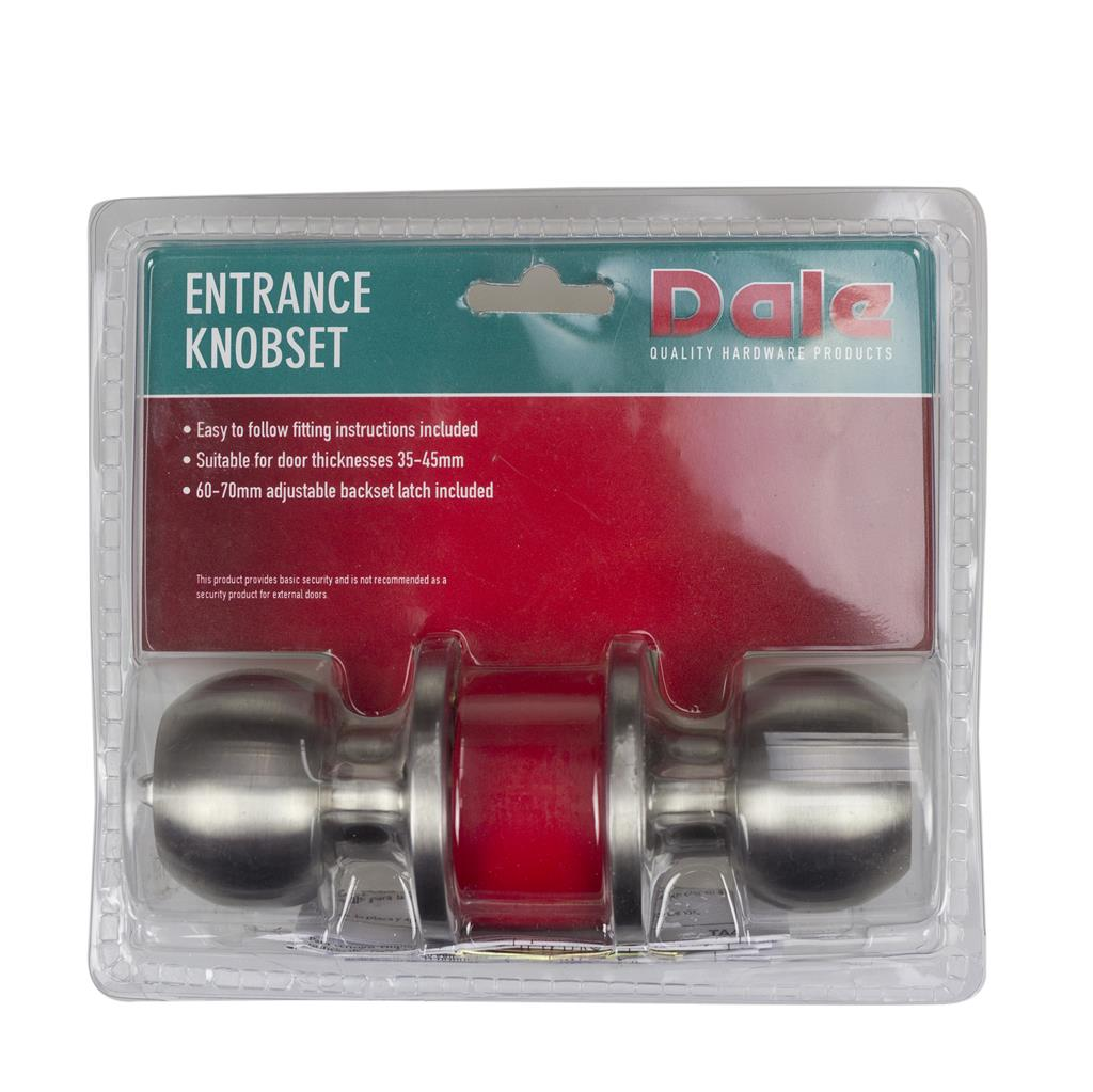 DOOR HANDLES KNOBSET ENTRANCE BALA SSS DH006950 DALE