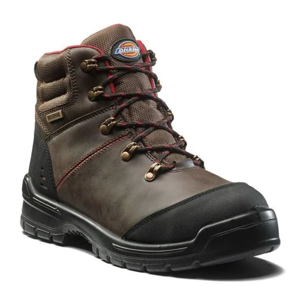 DICKIES CAMERON BROWN  SAFETY BOOT SIZE 6