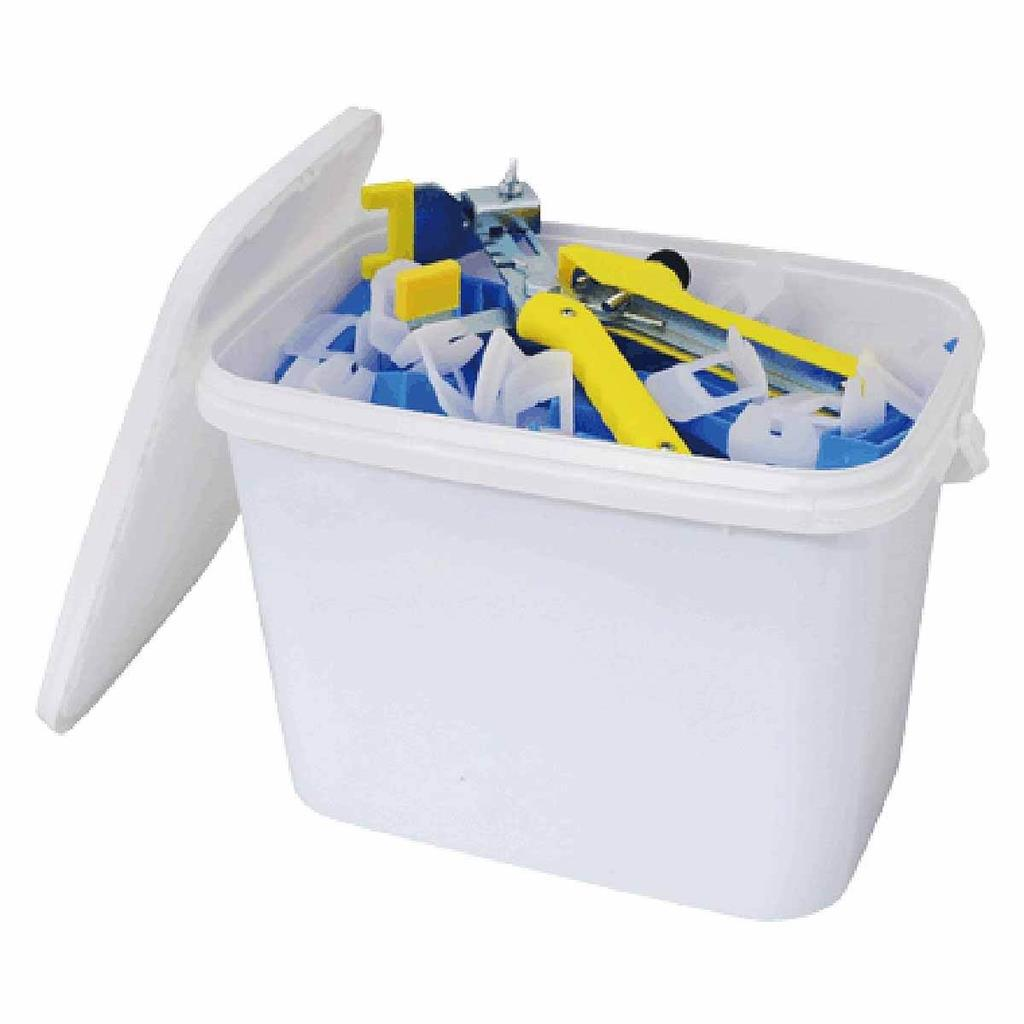 COMBI LEVELLING TILE SPACER BUCKET KIT