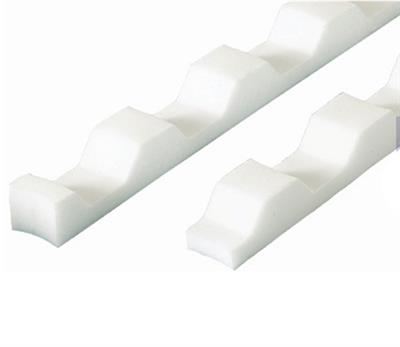 CORRUGATED SHEET EAVES FILLER PROFILE 3IN SOLD PER FULL PACK OF 6 ONLY
