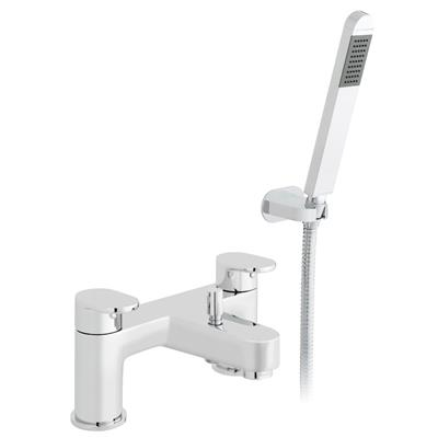 PELLA 2 HOLE DECK MOUNTED BATH SHOWER MIXER MDL-PEL-005