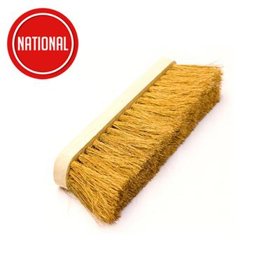 BROOM NATURAL COCO INDUSTRIAL 12IN 11.102 HEAD ONLY