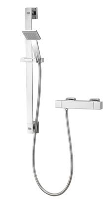 AQUALISA AQ COOL TOUCH SQUARE BAR SHOWER VALVE INC FIXING KIT CHROME AQSQBAR1