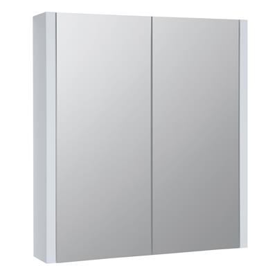PURITY 600MM MIRROR WALL CABINET WHITE 600X650X120 FUR110PU
