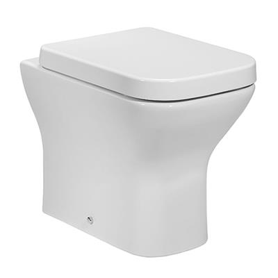 PROJECT SQUARE BACK TO WALL PAN AND SEAT  POT871PR/POT866PR
