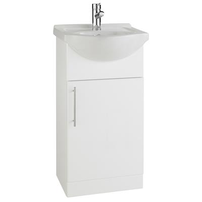 IMPAKT 450MM CABINET AND BASIN  FUR605IM/RWF45BASIN