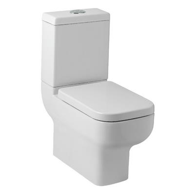 OPTIONS 600 PAN,CISTERN AND SOFT  CLOSE SEAT SQUARE STYLE POT0800P/POT450SE/POT082OP