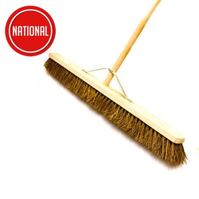 PATHWAY BRUSH BASSINE BROOM C/W STAYED HANDLE 900MM 1030000101