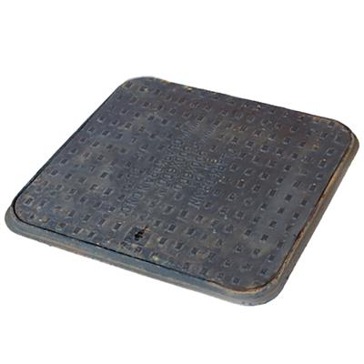MANHOLE COVER AND FRAME CAST-IRON 45KG 600X600MM MC1 **PEDESTRIAN** CLKS12