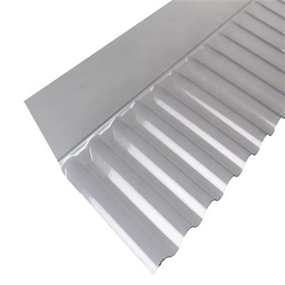 CORRUGATED SHEET CLEAR WALLFLASH MINATURE