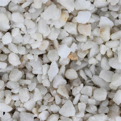 DASHING GRADE POLAR WHITE SPAR 25KG BAG 3-8MM