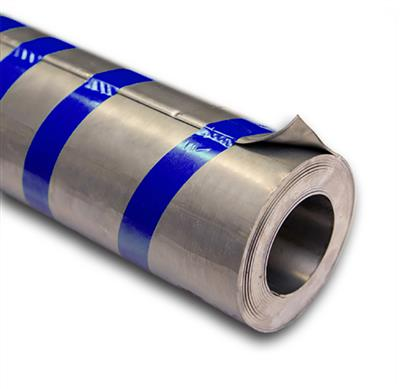 LEAD FLASHING CODE 4 210MM WIDE BLUE SOLD BY 6MTR ROLL 26kg CAST