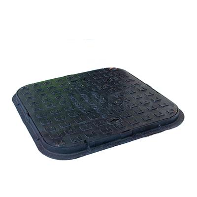 MANHOLE COVER AND FRAME CAST-IRON 600X600MMX40MM B125 REF CLKS777KMB