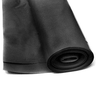 POLYTHENE 500MU BBA BLACK DAMP PROOF MEMBRANE BLACK 4MX12.5M