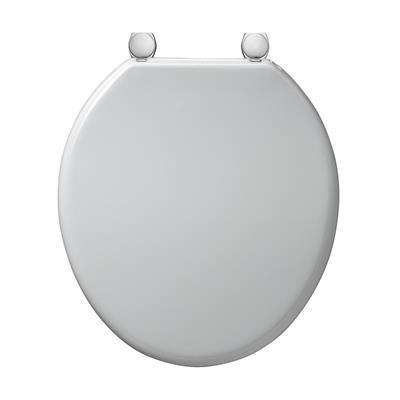 ARMITAGE BAKASAN TOILET-SEAT DOUBLE-FLAP WHITE S406001 (68940B2)