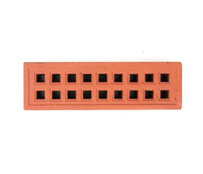CLAY AIRBRICK TERRACOTTA 220X70MM SQUARE HOLE