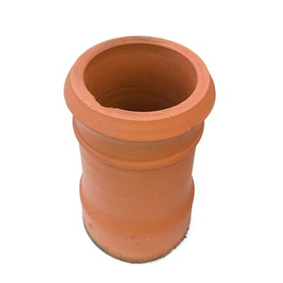 REDBANK CANNON HEAD CHIMNEY POT RED 4 300MM HIGH