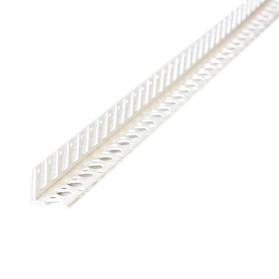 ARCH BEAD PLASTIC DRY LINING 2500MM (SIMILAR TO PFB001) WHITE