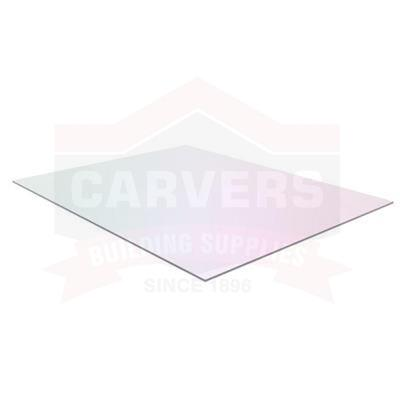 FLAT PLASTIC SHEET GLASS CLEAR GLAZING PANEL 1200x1200x4MM