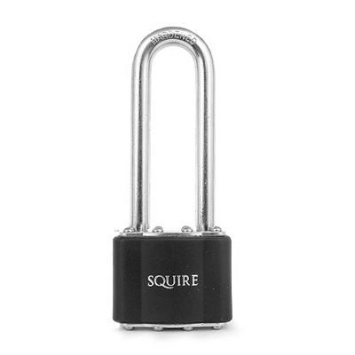 HENRY SQUIRE 38MM LAMINATED PADLOCK EXTRA LONG SHACKLE NO35/2.5