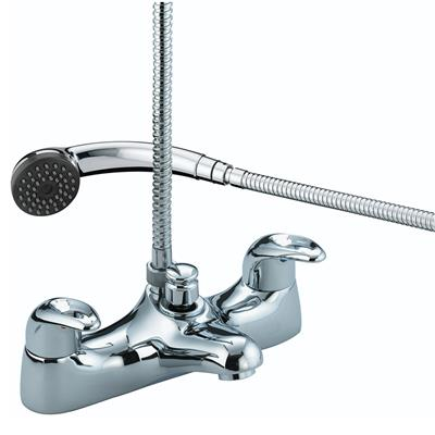 BRISTAN JAVA BATH SHOWER MIXER CHROME PLATED JBSMC