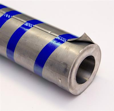 LEAD FLASHING CODE 4 150MM WIDE BLUE SOLD BY 3MTR ROLL 9kg CAST