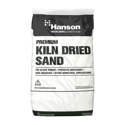 KILN DRIED SAND FOR BLOCK PAVING MAXI BAG HSKD25P