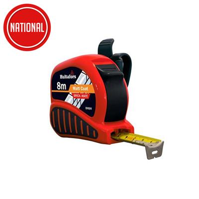 FISCO BRICK MATE TAPE MEASURE 8MTR FSCBMC08