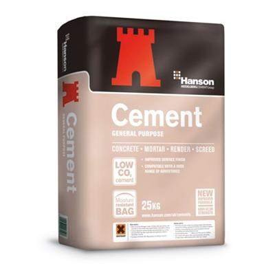 CEMENT 25KG BAG HANSON