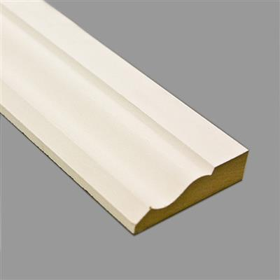 MDF ARCHITRAVE OGEE1 PRIMED 18X69MM 5.4M LENGTHS