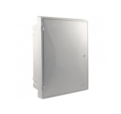METER BOX ELECTRIC FLUSH WHITE EB0011-80