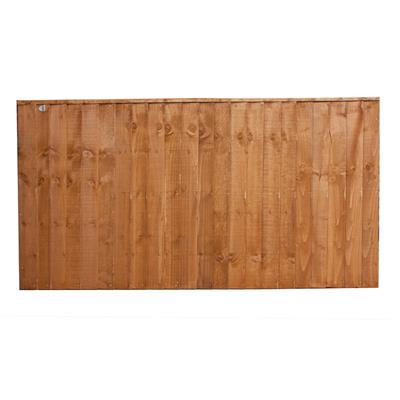 FENCE PANEL FEATHEREDGE 6FTX3FT T FULLY FRAMED SFEP3