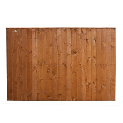 FENCE PANEL FEATHEREDGE 6FTX4FT T FULLY FRAMED SFEP4