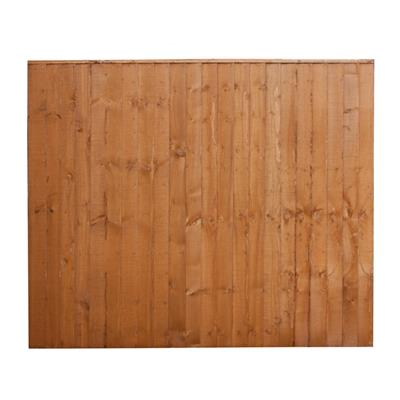 FENCE PANEL FEATHEREDGE 6FTX5FT T  SFEP5