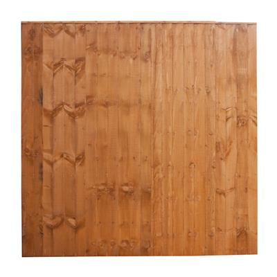 FENCE PANEL FEATHEREDGE 6FTX6FT T FULLY FRAMED SFEP6