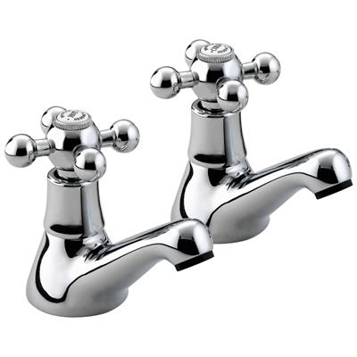 BRISTAN REGENCY BASIN TAP CHROME PER PAIR