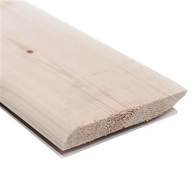 DUAL PURPOSE SKIRTING 19X125MM FIN TO 14.5 X 119MM BULLNOSE/ CHAMFERED PLANED SOFTWOOD