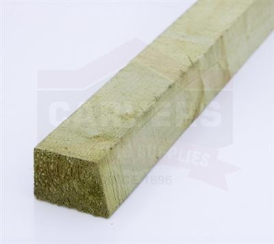 CANT RAIL TREATED GREEN 47X75MM