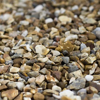 BULK BAG GRAVEL 10MM GOLDEN FLINT