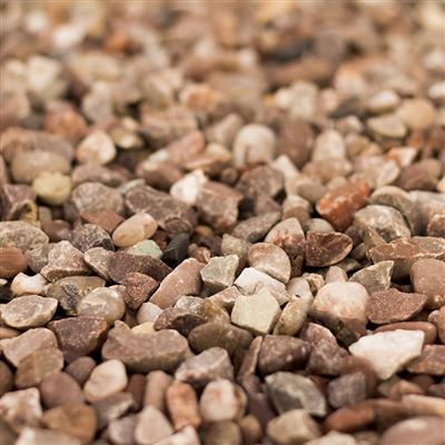 GRAVEL 20MM PINK STAFFORDSHIRE IN 20KG BAG LONGRAKE