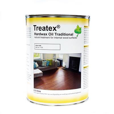 TREATEX MATT HARD WAX OIL 1LTR CLEAR MATT