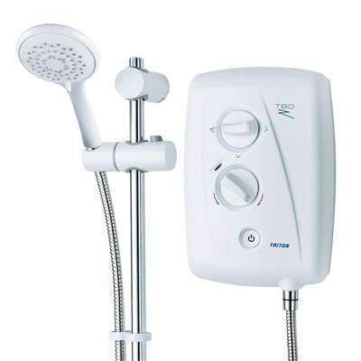 TRITON T80ZFF 9.5KW ELECTRIC SHOWER WHITE/CHROME