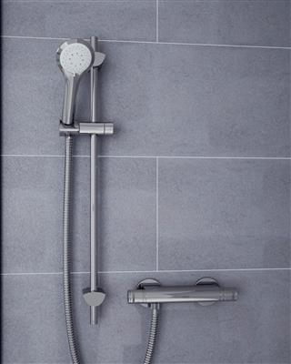 BRISTAN ARTISAN THERMOSTATIC BAR MIXER SHOWER CHROME EASY FIT CON AR2SHXMTFFC