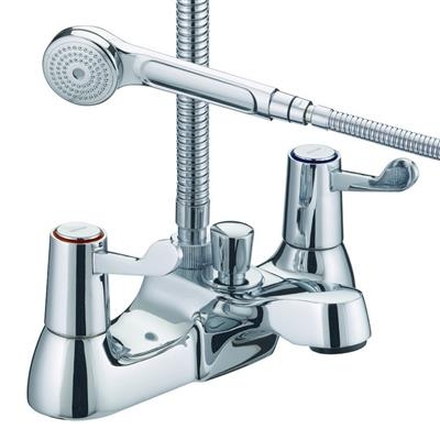 BRISTAN VALUE LEVER 3'' BATH SHOWER MIXER IN CHROME REF VAL BSM C CD