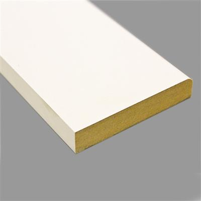 MDF ARCHITRAVE ROUND-ONE-EDGE PRIMED 18X44MM 5.4M LENGTHS