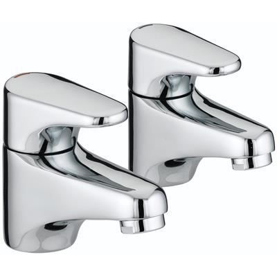 BRISTAN JUTE BASIN TAPS CHROME JU1/2 C