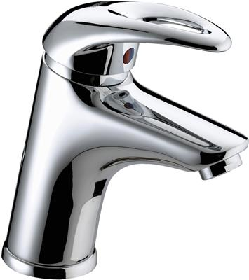 BRISTAN JAVA MONO BASIN MIXER WITH ECO CLICK IN CHROME REF J EBAS C