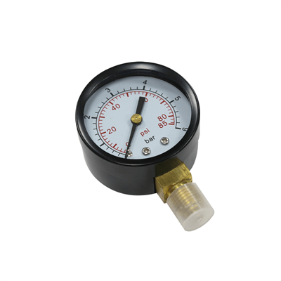PRESSURE GAUGES 0-6 BAR 1/4'' BOTTOM CONNECTION MPRVPG026