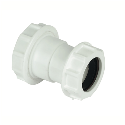 COMPRESSION WASTE REDUCER 40MM X 32MM WHITE PS38 WC38W