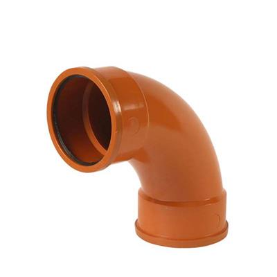 UNDERGROUND RADIUS BEND 87.5DEG DOUBLE SOCKET 110MM  B4031